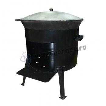 Казан 30 литров + печь (стандарт)