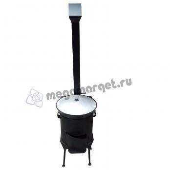 Казан 12 литров + печь (премиум)